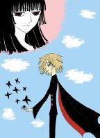 Like a black butterfly by CLAMP-xxxholic