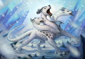 Winter roar  by CindyAA