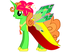 Izzy Total Drama Alicorn by TwilighttsSparkless