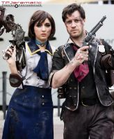 BioShock Infinite - Elizabeth and Booker by TPJerematic