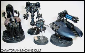 Zanatorian Miniatures by Proiteus