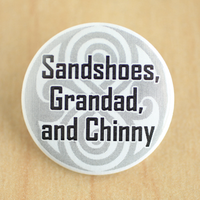 Sandshoes, Grandad and Chinny by MonstersPins