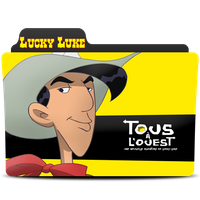 Lucky  Luke folder 80 by lahcenmo