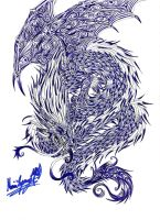 spirit dragon tattoo 2 by TheLaughingChimera
