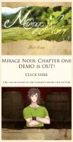 -DEMO IS OUT- Mirage Noir: Chapter One by Noire-Ighaan