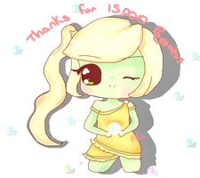 Thanks for 1500+ page views by Teddy-Pika