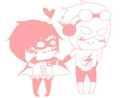 Chibi Wally and Dick. by Zelda-HylainPrincess