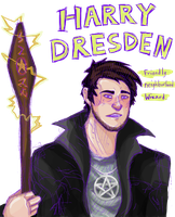 Harry Dresden by eden-paradox