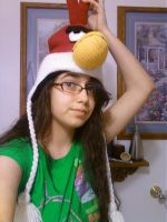 Angry birds hat by KawaiiYandereYuno