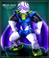 Mojo Jojo Colored by Xiao-Fury