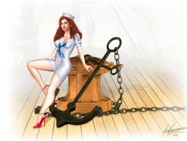 Pin Up Sailor by Corbistiger