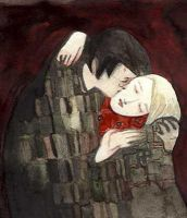 Harry,Draco, the kiss by mneomosyne