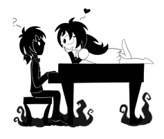[Don't Starve] The Piano by Miss-Twila