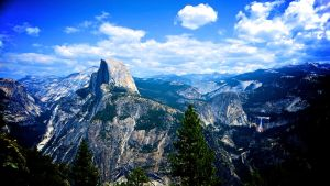 Half Dome, Yosemite 2 by Justjill9
