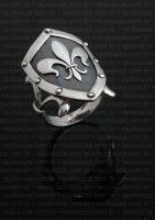 Medieval Shield Ring by raulsouza