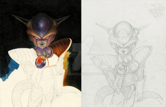 Frieza avances by alcahope
