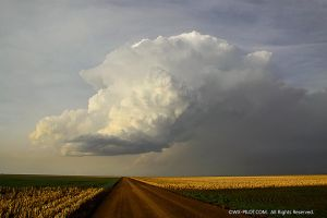 Kansas Thunderstorm by CRELLIOTT0302