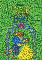 Beauty and the Beast by EllenStration
