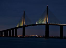 Sunshine Skyway Bridge by Digital-Eyes