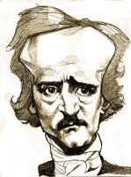 Poe Caricature by pietro-ant
