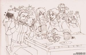 Bachelor Party by aimo