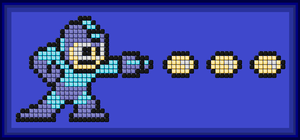 Mega Man Mosaic by WhiteLionWarrior