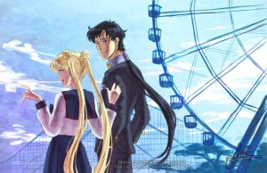 Seiya+Usagi: One-Sided by YoukaiYume