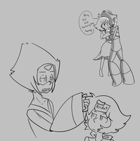 Peridot's What's Mine Is Mine (sketches ) by 12luigi