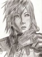 Final Fantasy XIII - Lightning by ChronicleArtist