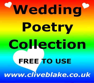 Wedding Poetry -Free To Use 02 -by Clive Blake by CliveBlake