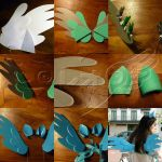 Rainbow Dash (MLP) wings and ears commission by MisatoLx