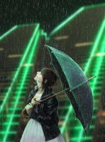 City rain by pankreas67