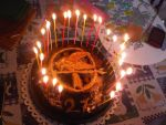 Hunger games cake by Foxlady85