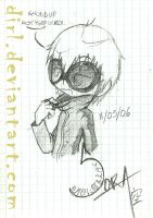Shuddup bitch, Ruki's talkin by Dirl