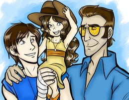 TF2 - Time Together by SoundlessOrchid