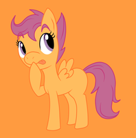 Scootaloo by thepiplup