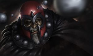 Magneto's Last Stand by kylecbastian