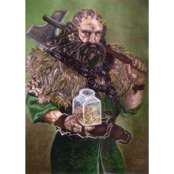 Dwalin with cookies by Marin1233