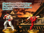 Ryu and Ken's Themes (Smash 4 WiiU) for S/USF4 by Iwantanewscreen
