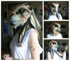 Horus costume WIP 2 by ihni