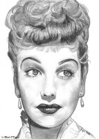 Lucille Ball by marmicminipark