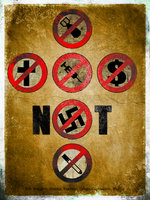 Antifa Not Poster by BuldoZZeR