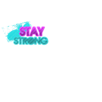 Stay Strong PNG by Piluu10