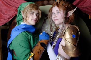 I will never let you go - Link / Zelda cosplays by Grenier-Illiane