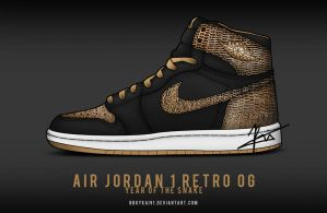 Air Jordan 1 'Year of the Snake' by BBoyKai91