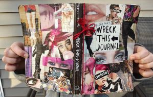 Wreck This Journal: Covers. by HeavenlyWitchx