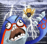 Kyogre vs. Shedinja Showdown by GlassPanda