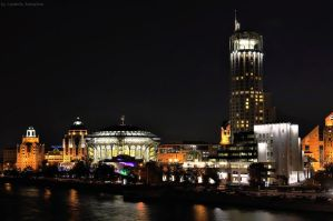 business center_Night by Lyutik966