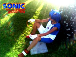 Sonic The Hedgehog by Hina-Osita