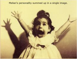 A Pictorial Summation of Melian's Personality by MelianOfMist